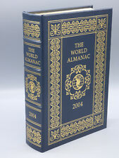 "Easton Press ""The World Almanac 2004"" Leather Bound  Collector's Edition"