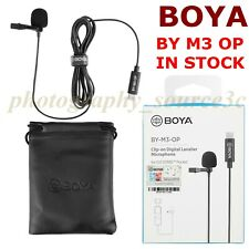 BOYA BY M3 OP Video Microphone Condensor For DJI OSMO Pocket Vlog USB Type-C 1x