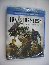 TRANSFORMERS 4 L'ERA DELL'ESTINZIONE - BLURAY NEW SEALED - MARK WAHLBERG
