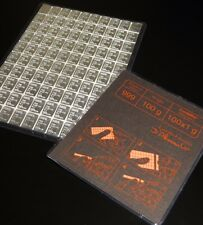 20g GRAM STRIP (20 X 1g GRAMS) .999 FINE SILVER VALCAMBI BULLION BAR (NOT GOLD)
