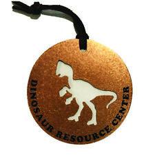 Copper Ornament- Christmas, Decoration, Dinosaur, Cutout, Oviraptor, NEW