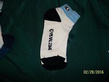 2 pr. PEARLIZUMI Bicycle Socks. Sz  Md  White/Lt. Blue..Blue  New
