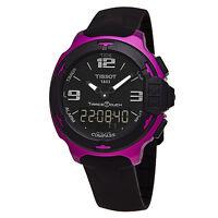 Tissot Men's T-Race Touch Black Rubber Strap Swiss Quartz Watch T0814209705705