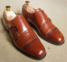 Edward Green Monkstrap shoes brown size 6.5UK
