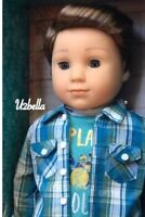 American Girl Logan Everett First Boy Doll BFF Tenney Grant NEW IN BOX