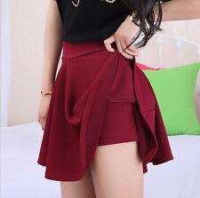 FASHION Full Season LADYS  Women Korean Anti Exposure skirt pleated fluffy Dress