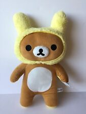 Brand NEW With Tag 21 inch Rilakkuma Bear With Bunny Hat Plush Doll