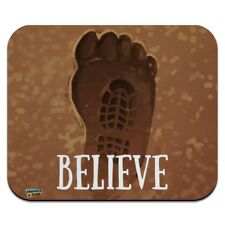 Bigfoot Sasquatch Believe Foot Print Low Profile Thin Mouse Pad Mousepad