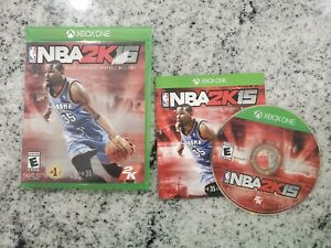 NBA 2K15 (Microsoft Xbox One, 2014) Complete Free Fast Shipping