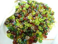 8/0 Miyuki Good Earth Glass Round Seed Beads 10Grams #8-Mix-11