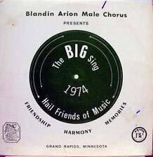 BLANDIN ARION MALE CHORUS big sing 1974 LP VG+ MC 4288 Vinyl 1971 Record