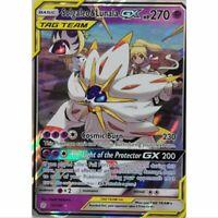 Solgaleo & Lunala GX 75/236 Ultra Rare Pokemon Englisch NM/Mint