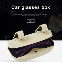 Car Sunglasses Case Holder Glasses Cage Storage Box for Sunglasses 4 Colors