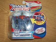 2007 NIP Transformers Animated Activators Decepticon Starscream Action Figure