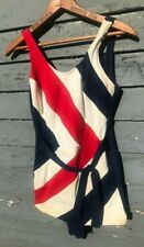 Vintage 50s/60s Women's Mod Union Jack Swimsuit
