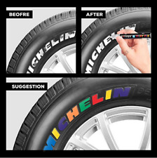 Paint Pens For Painting Rocks, Metal, Car Tyre .. Waterproof Marker - 15 Colours