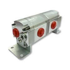 Geared Hydraulic Flow Divider 2 Way Valve 225ccrev With Centre Inlet