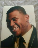 CURTIS FINCH SIGNED 8X10 PHOTO AMERICAN IDOL B W/COA+PROOF RARE WOW