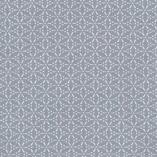 AU MAISON Wachstuch Sakura Blaugrau beschichtete Baumwolle 0,5 Meter