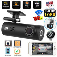 Mini WIFI Dash Cam HD 1080P Car DVR Camera Video Recorder Night Vision G-sensor~