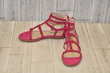Hushpuppies Abney Chrissie Lo Gladiator Sandal-Women's Size 8 Rose