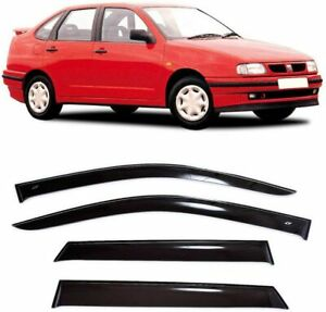 For Seat Cordoba Sd 1993-2002 Side Window Visors Sun Rain Guard Vent Deflectors