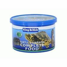 @KING BRITISH TURTLE & TERRAPIN 200g COMPLETE FOOD PELLETS SHRIMPS AQUARIUM FISH