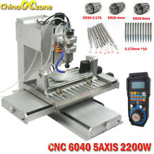 Cnc 6040 5axis 2200w Engraving Machine Cnc Milling Desktop Diy Router Machine