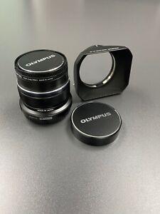 Olympus M.Zuiko 12mm f/2 ED Lens For Four Thirds (Black)