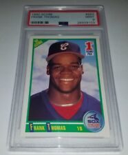 1990 SCORE #663 FRANK THOMAS ROOKIE CARD RC GRADED PSA 9 MINT WHITE SOX HOF