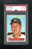 1967 TOPPS #289 TOM TRESH NEW YORK YANKEES PSA 8 NM/MT++CENTERED!