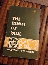 Ethics of Paul Morton Scott Enslin 1957 Abingdon Press Paperback Religion