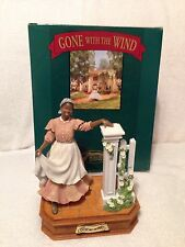 """Gone With the Wind ~ San Francisco Music Box """"Prissy At The Fence"""""""