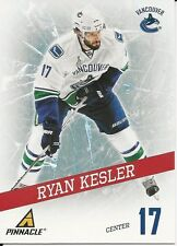 Ryan Kesler 2011-12 Pinnacle Breakthrough Insert Card # 1 Vancouver Canucks