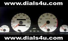 PEUGEOT 306 PHASE 1 (1993-1997) - 140mph (essence ou diesel) - Kit Cadran Blanc