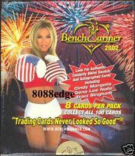 2002 BENCHWARMER SERIES 1 FACTORY SEALED BOX - BIKINI/AUTOGRAPH AUTO/KISS
