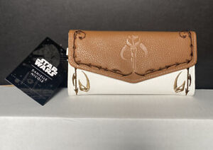 Star Wars: The Mandalorian Leather Wallet for Women by Danielle Nicole