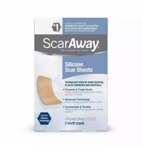 ScarAway Silicone scar sheets 2 month supply exp 09/2022. Damaged/opened Box