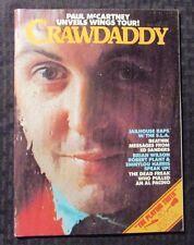 1976 April CRAWDADDY Magazine FVF 70 Beatles - Paul McCartney