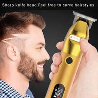 Golden Barber Hair Clipper Electric Hair Trimmer Men Cordless Shaving Machine
