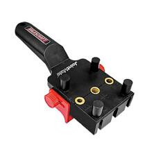 Milescraft 1319 JOINTMATE 1/2-Inch-1-1/2-Inch Universal Dowel Jig, Black/Red