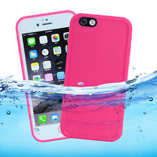 "For Apple iPhone 7 4.7"" Waterproof Shockproof Hybrid Rubber TPU Case Cover Skin"