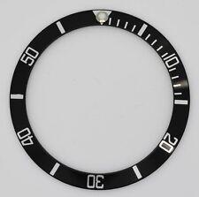 Reloj Rolex Submariner Bisel Inserto para casos de Plata Negro 16610 16800 parte