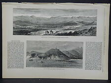 Illustrated London News Full Page B&W S6#49 Apr 1879 Fort Pearson, Tugela River