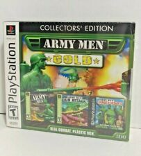 Army Men: Gold - Collectors' Edition (Sony PlayStation 1, 2002) PS1 NEW - SEALED