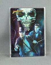 INDIANA JONES KINGDOM OF THE CRYSTAL SKULL No: 4 OF 10 FOIL CARD - NEW (TOPPS)