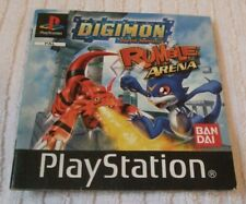 PLAYSTATION ONE ** MANUAL/INSTRUCTION BOOK - DIGIMON - RUMBLE ARENA ** USED