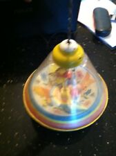 Vintage Rare Spinning Top-Ohio Art- Spiral Winnie the Pooh with balls