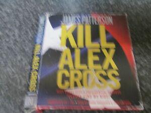 JAMES PATTERSON - KILL ALEX CROSS - 7 CD AUDIO BOOK SET