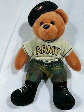 """Team Beans Army Bear plush 9"""""""